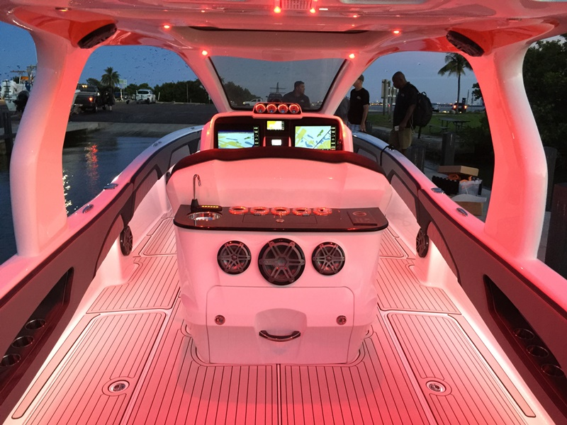 2017 DEEP IMPACT 399 Helm - NIGHT