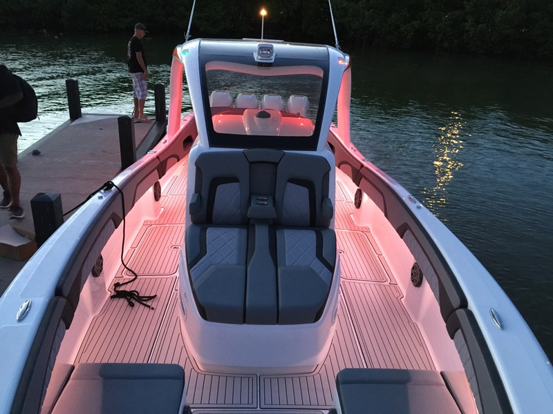 2017 DEEP IMPACT 399 CC Sunbed - NIGHT