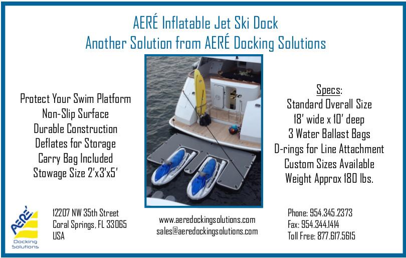 2016 AERÉ inflatable Jet Ski Dock