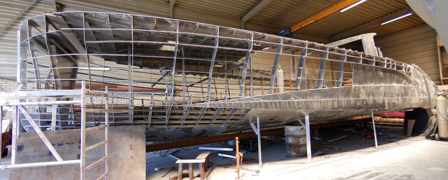 Steel Aluminum Hull Welded Construction