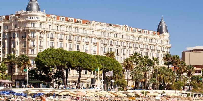 CARELTON HOTEL, CANNES, FRANCE