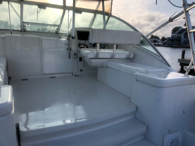 HELM SEAT AFTER APPLICATION